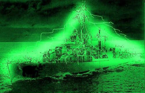 Desmaterialización del USS Eldridge