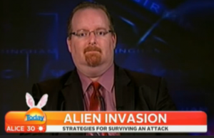 Paul Springer Invasión Extraterrestre