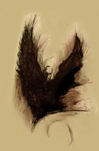 Retrato de Mothman en el Museo e1334594380961 196x300 La Leyenda de Mothman