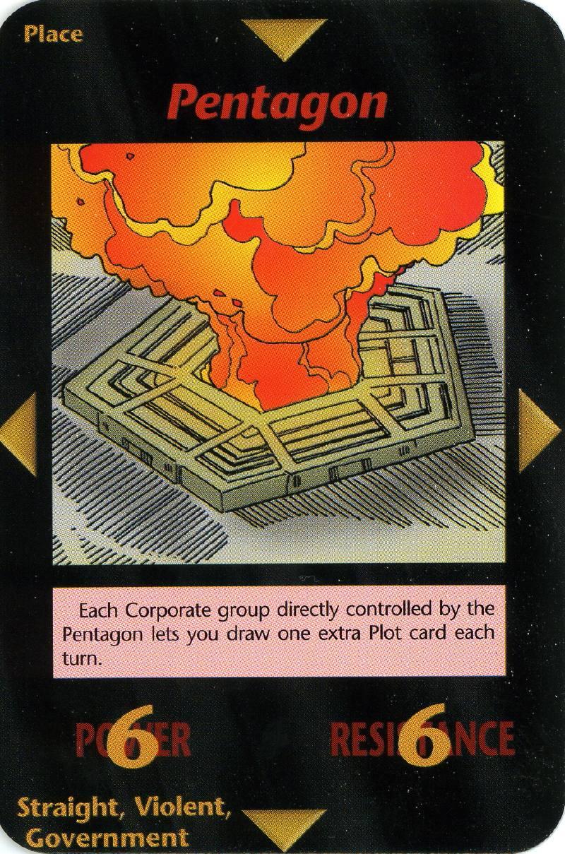 Atentado Pentagono - Cartas illuminati significado de cada una