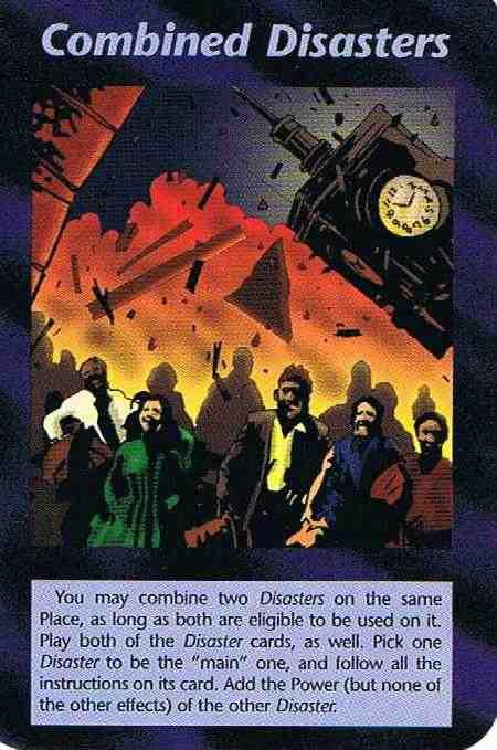 Desastres Combinados - Cartas illuminati significado de cada una