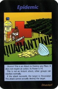 Epidemias e1337874385510 197x300 - Toda la Agenda Illuminati en un Juego de Cartas