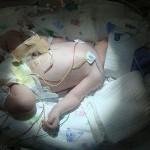 El Fantasma Blanco, Un Bebé nace sin Sangre