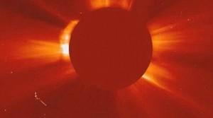 UFO cerca del sol