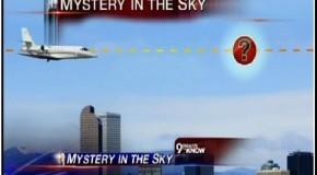 """""""UFO"""" casi provoca un accidente de avión en Denver"""