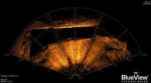 Imagen en 3D del objeto en el mar Báltico