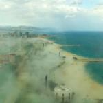 Fenómenos atmosféricos extraños en Barcelona y Venecia