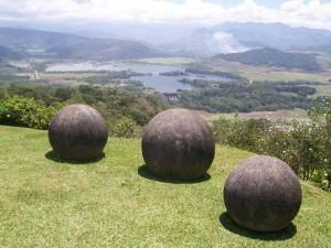 Esferas de piedra en Costa Rica