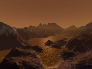 Titán parecido a la Tierra