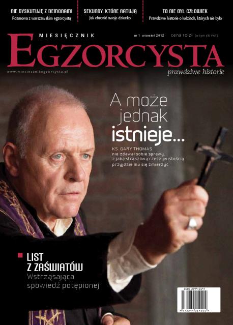Egzorcysta ,la primera revista dedicada al mundo del exorcismo