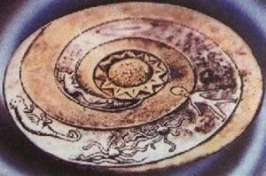 Extrano mensaje en las piedras dropa e1346955603465 300x198 - Las piedras Dropa, vestigios de una antigua civilización