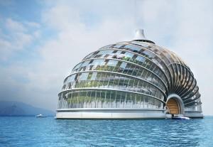 """Nuevo diseno del arca de noe e1348679992322 300x207 - Ark Hotel, la nueva versión del """"Arca de Noe"""""""