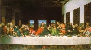 """la ultima cena de leonardo da vinci e1348169046449 300x164 - Nuevos datos sobre el posible matrimonio de """"Jesús"""""""