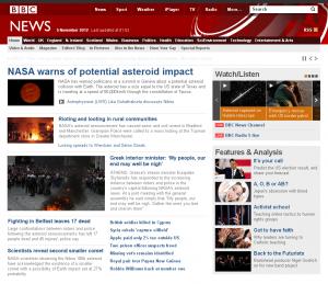 BBC confirma Nibiru
