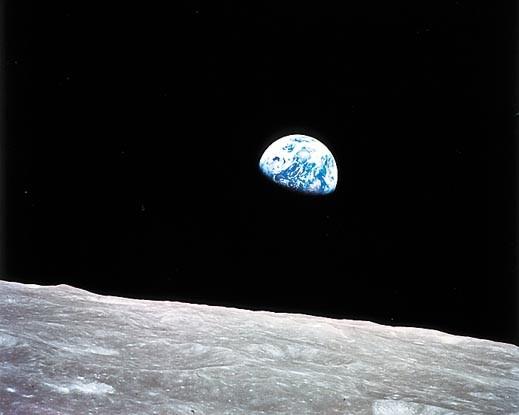 El amanecer terrestre