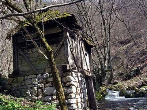 El molino del pueblo de Zarozje
