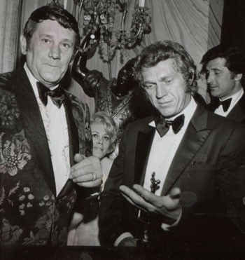 Peter Hurkos y Steve McQueen
