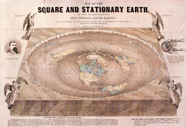 Teoria de la tierra plana e1353891440515 Teoría de la Tierra plana, ¿y si no fuera como nos lo contaron?