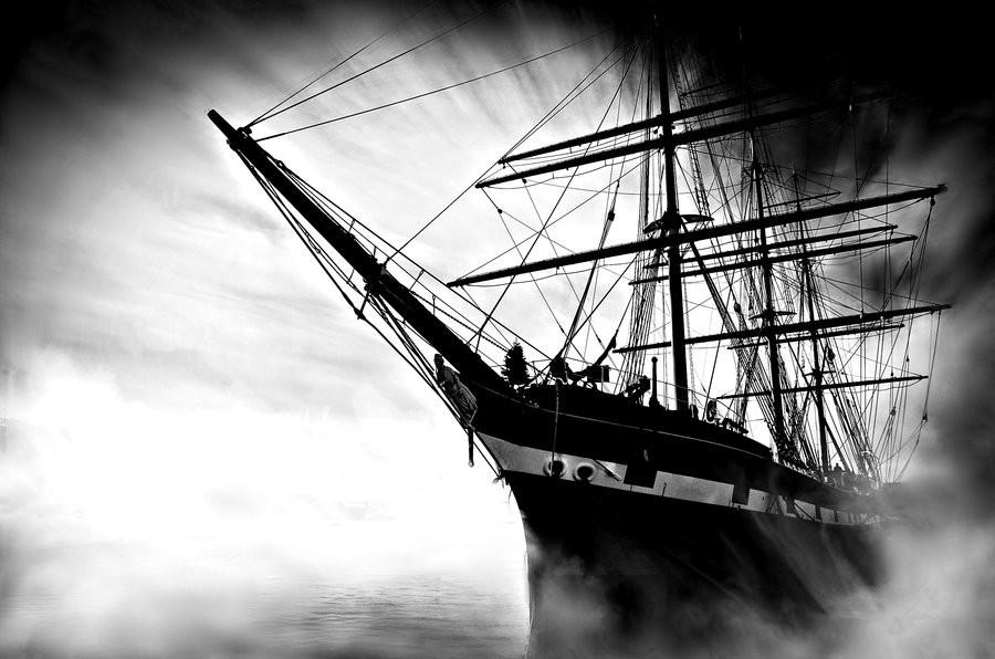 Barcos fantasmas, misterios en los oceanos