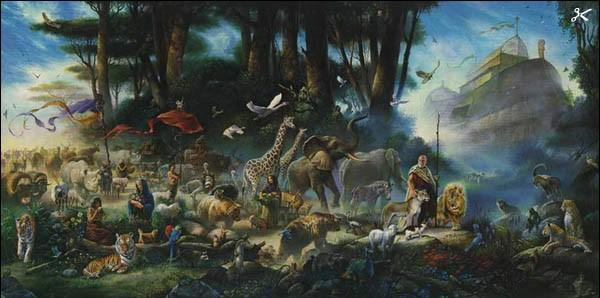 El diluvio universal y el Arca de Noé