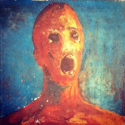 El hombre angustiado, retrato del más allá