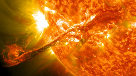 Grandes tormentas solares para el 2013