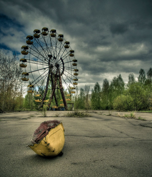 Pripyat la rueda de la fortuna