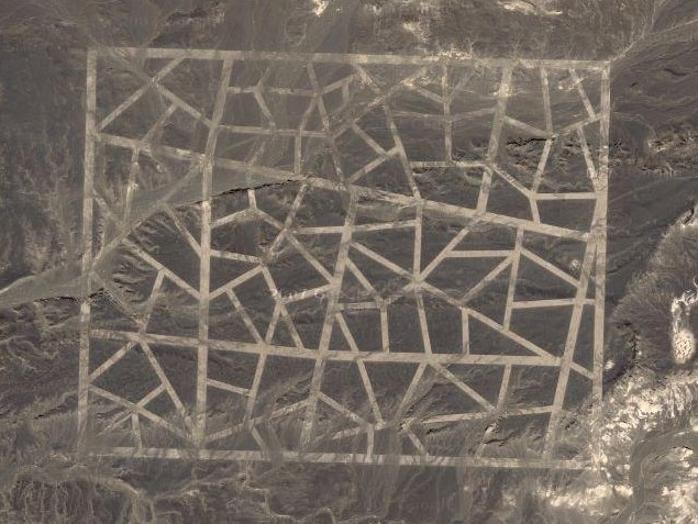 Misteriosas estructuras en china