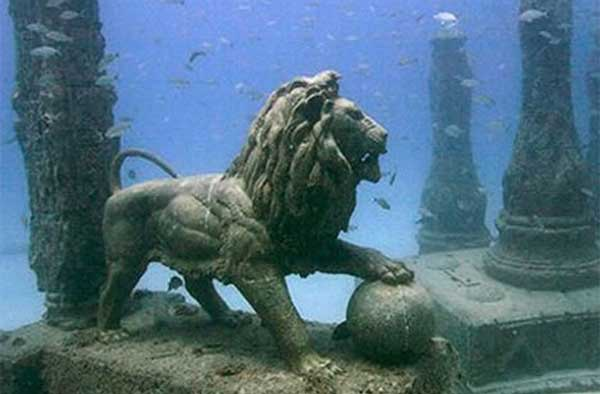 El palacio perdido de Cleopatra 2 - Antiguas ciudades sumergidas bajo nuestros océanos