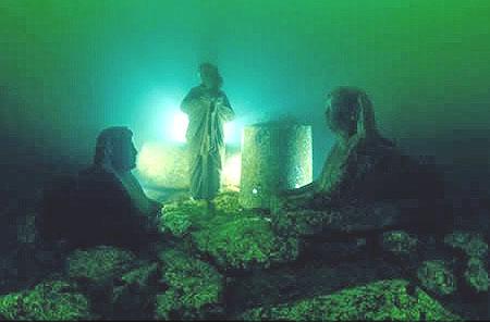 El palacio perdido de Cleopatra - Antiguas ciudades sumergidas bajo nuestros océanos