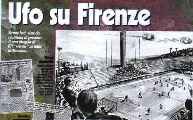 El partido de futbol que fue suspendido por un fenomeno Ovni - El partido de fútbol que fue suspendido por un fenómeno Ovni