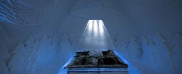 "Ice Hotel vive tu propia experiencia extraterrestre - ""Ice Hotel"", vive tu propia experiencia extraterrestre"