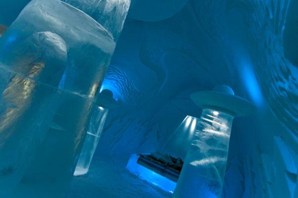 Ice hotel3 Ice Hotel, vive tu propia experiencia extraterrestre
