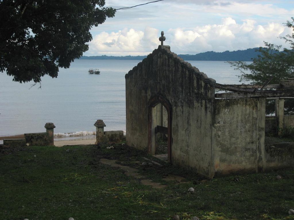 La capilla de la Isla de Coiba