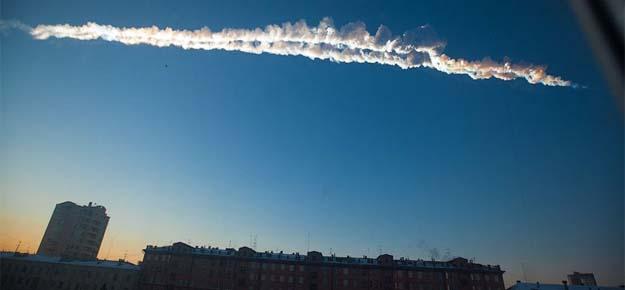 Impacta un supuesto meteorito provocando el panico en Rusia - Impacta un supuesto meteorito provocando el pánico en Rusia