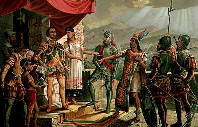 Moctezuma y la caída de las civilizaciones de América Central