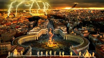 """NAVEGANDO POR EL TIEMPO """"COREY GOODE Y DAVID WILCOCK"""" La-destruccion-del-Vaticano"""