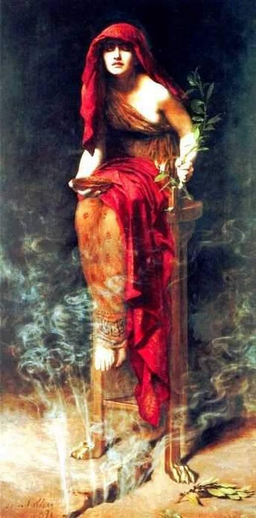 El oraculo de Delfos - Famosos profetas del pasado