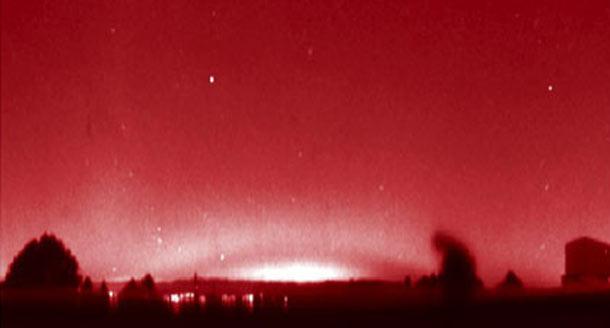 """Misteriosos Arcos Rojos sobre los cielos de Europa - Misteriosos """"Arcos Rojos"""" sobre los cielos de Europa"""