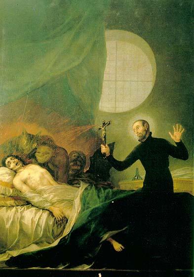 San Francisco de Asís, el exorcista