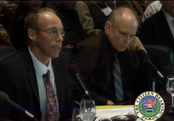 Steven Greer en la audiencia - Ex congresistas de los Estados Unidos crean una audiencia sobre la divulgación ovni