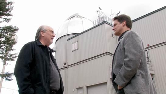 Tom Horn y Cris Putnam en el VATT - LUCIFER, el telescopio del Vaticano en busca de vida extraterrestre