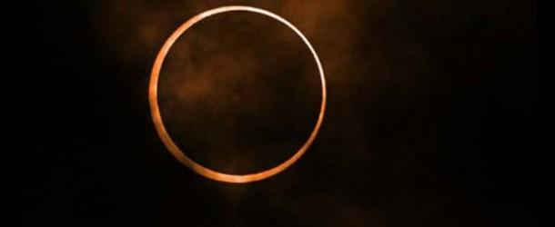 Extraño Eclipse de Sol Anular en mayo