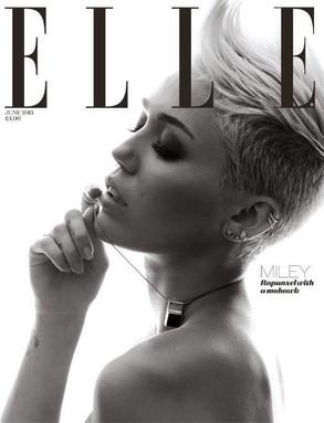 Miley Cyrus en la revista Elle - Miley Cyrus afirma haber sido testigo de fenómenos paranormales en su casa de Londres