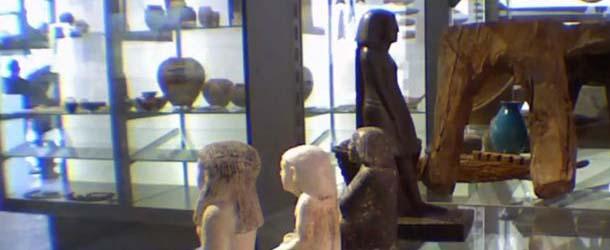 Antigua estatua egipcia gira misteriosamente en el Manchester Museum - Antigua estatua egipcia gira misteriosamente en el Manchester Museum