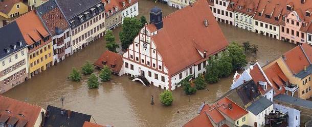 Graves inundaciones en Europa, el cambio de polos ya está ocurriendo