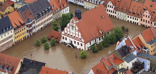 Graves inundaciones en Europa - Graves inundaciones en Europa, el cambio de polos ya está ocurriendo