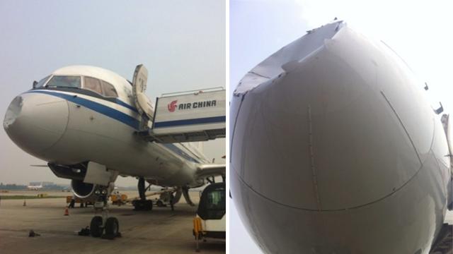 Impacto de un Ovni 2 - Ovni impacta contra un Boeing 757 en China