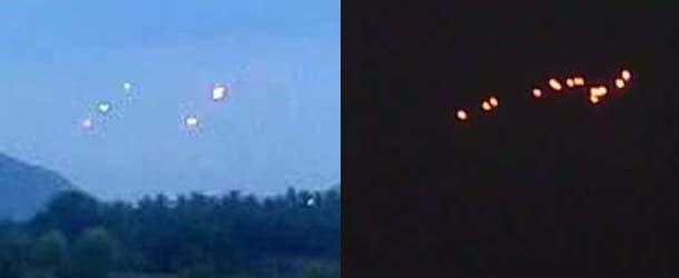 El gobierno Indio investiga continuos avistamientos OVNI en la frontera con China