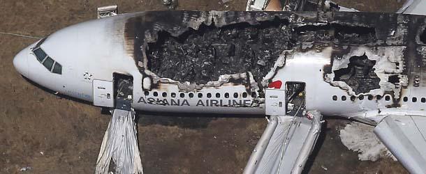 Misterioso simbolismo en el accidente del vuelo 214 de Asiana Airlines